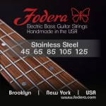 Fodera Stainless Steel 5 String Set