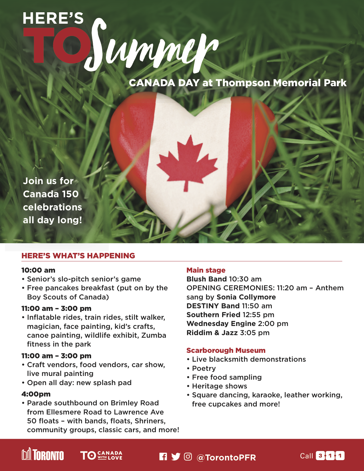 Live Music for Canada Day at Thompson Memorial Park: Riddim & Jazz Crew